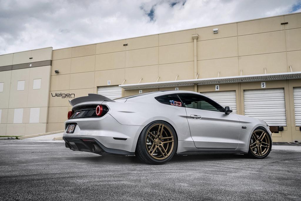 Ford Mustang Gt Velgen Wheels Split5 Satin Bronze Ford Mus