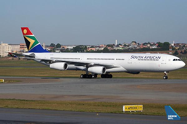 South African Airways A340-300 (A.Ruiz)