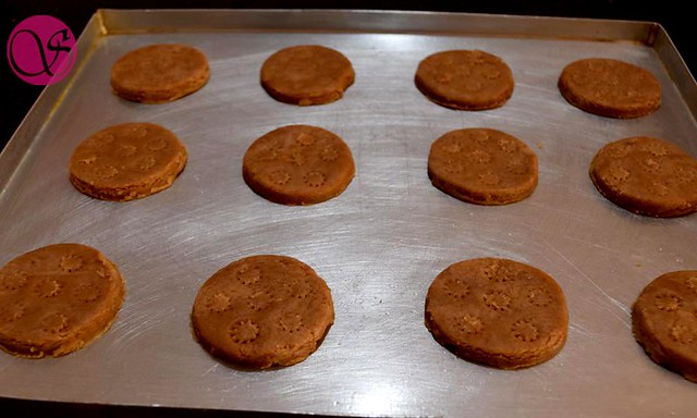 Homemade Atta Biscuits before baking