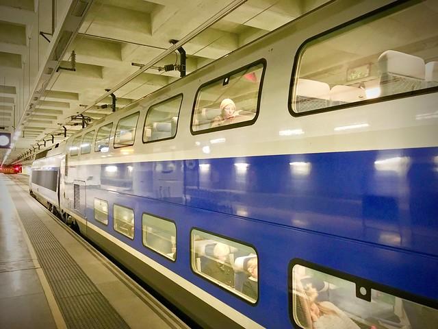 TGV Barcelona-París