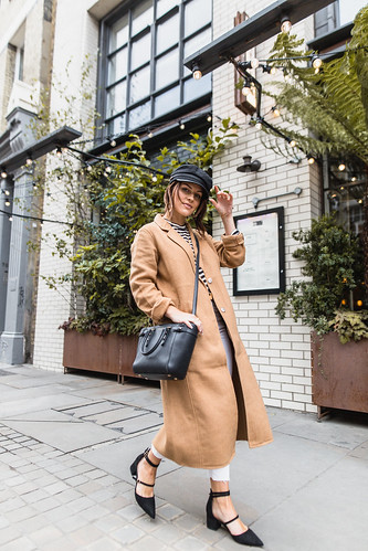 The Little Magpie Urban Outfitters Camel Coat Street Style | by Magpie132