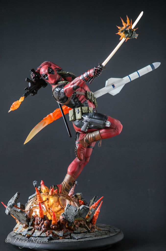 Marvel Comics X-men Deadpool Heat-Seeker Premium Format Fi…   Flickr
