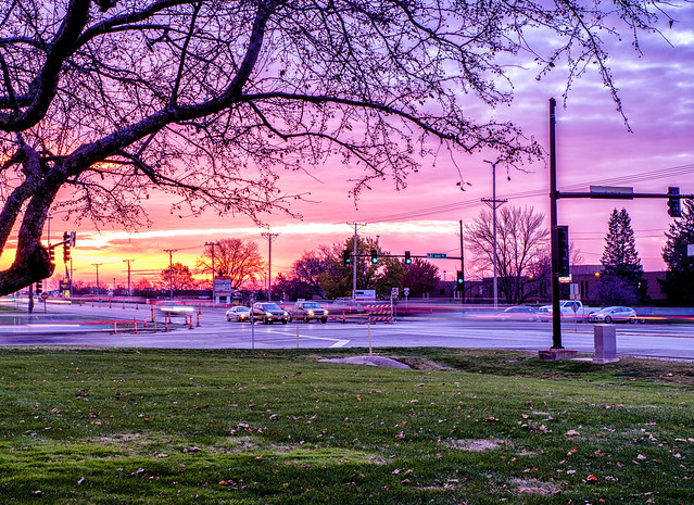 Time changes bring commuters sunrises again
