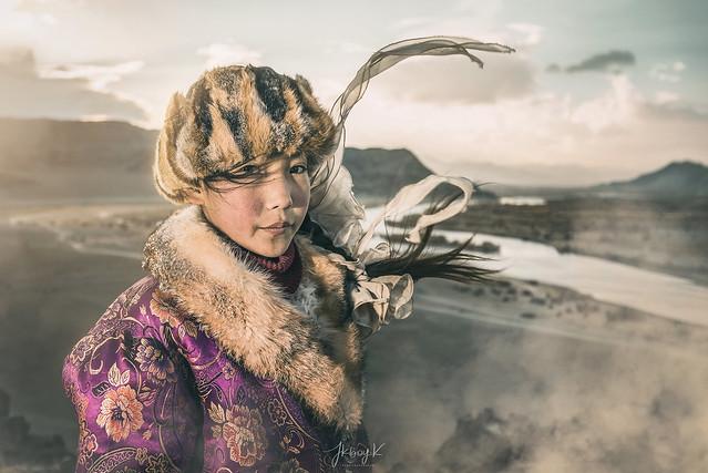 Young Eagle Huntress