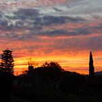 Sunrise in My Backyard this Morning