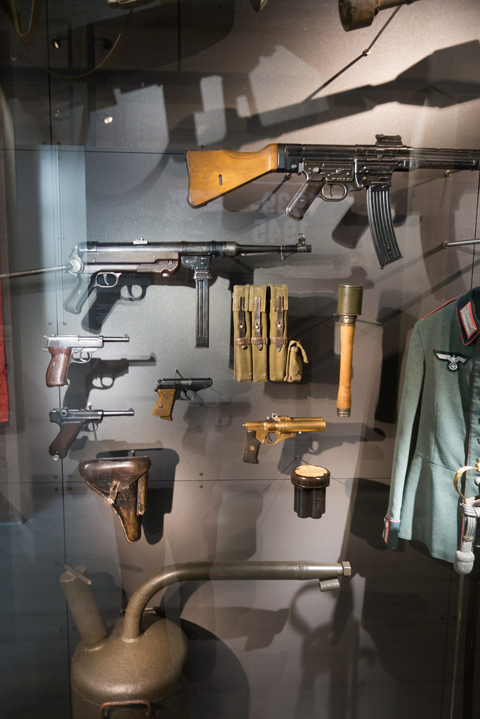 WWII German weapons | Royal Danish Arsenal Museum, 2017 | Thomas
