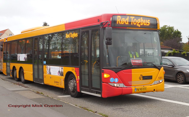 2012 Scania Omnilink ARRIVA 1091 rail replacement bus