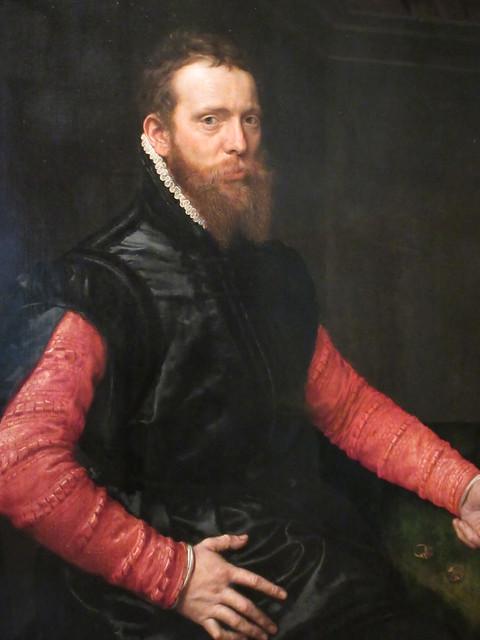 Portrait of Steven van Herwijck, Mauritshuis, The Hague, Netherlands