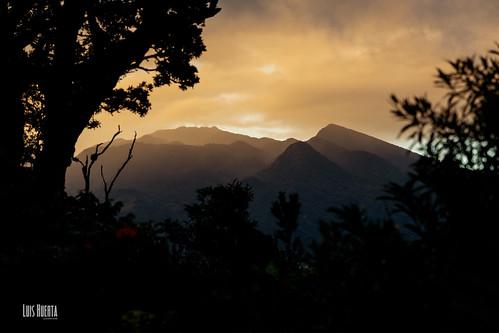 jaramillo provinciadechiriquí panamá pa atardecer volcan baru cima