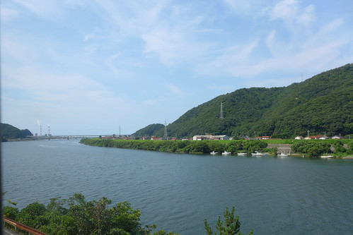 三江線 sankoline sankōline 車窓 window 江の川 gōnokawariver gonokawariver 島根県江津市 gōtsushimane gotsushimane