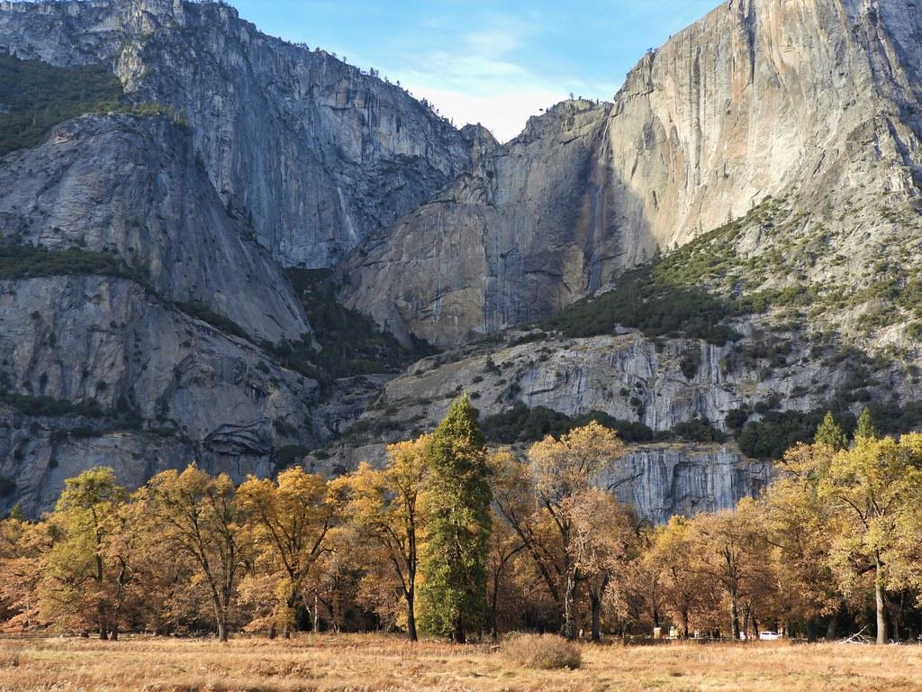 Yosemite National Park in Autumn.