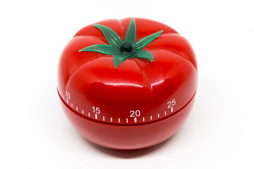 Egg timer in tomato shape for Pomodoro Technique | by marcoverch