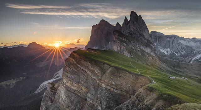 Seceda Sunrise
