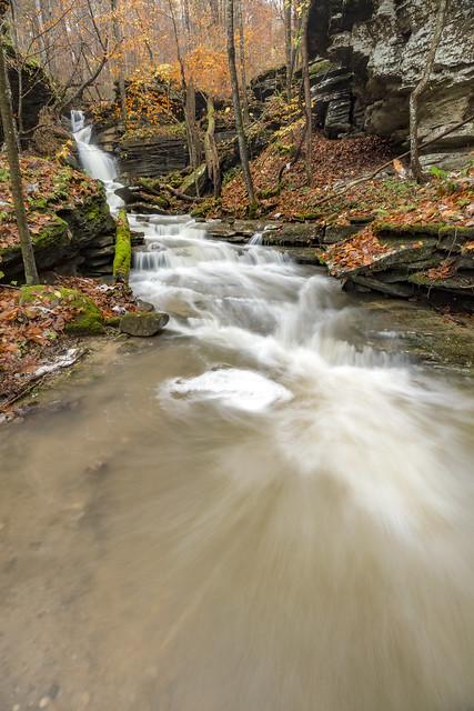 Burchett Falls, Fall Creek Falls SP, Van Buren County, Tennessee 5