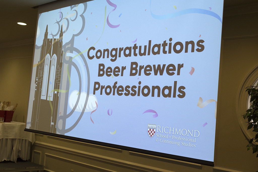 Beer Brewer Professional Certificate Award Ceremony