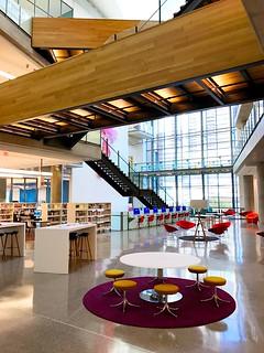 New Central Library 3rd Floor Atrium