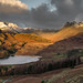 Blea Tarn and the Landale Pikes from Birk Knott Lake District by FROSTY150