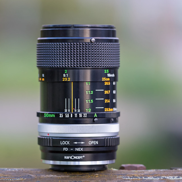 Canon FD 50mm ƒ/3.5 Macro S.S.C.