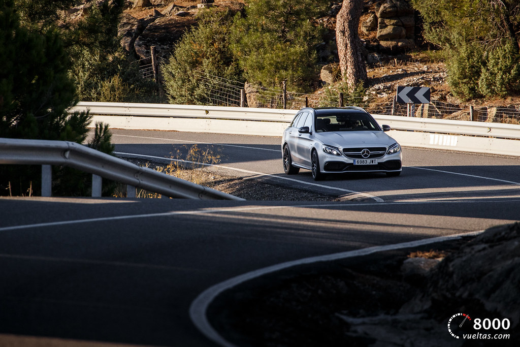Mercedes C63 AMG S - 8000vueltas-10