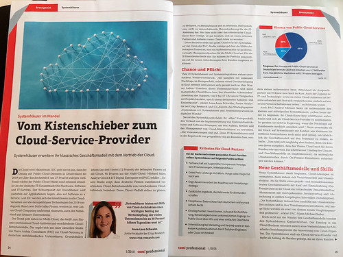 Crisp Research AG | Junior Analyst Anna-Lena Schwalm | Vom Kistenschieber zum Cloud-Service-Provider | by Crisp Research AG