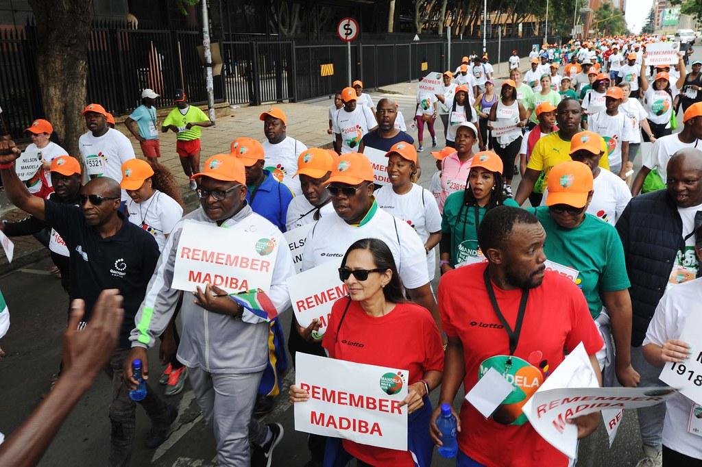 Mandela Remembrance Walk and Run | Gauteng Premier David Mak… | Flickr