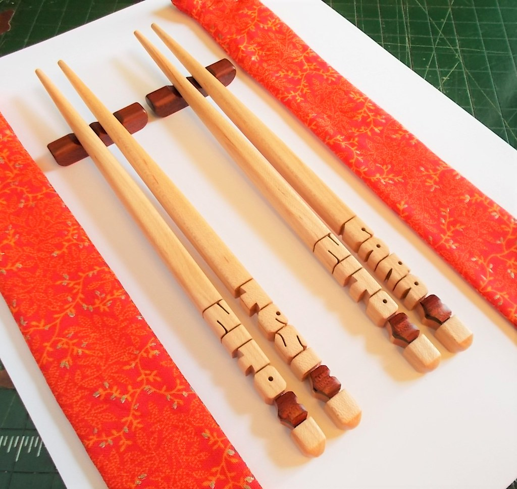 Personalized Maple Wood Chopsticks Gift Set With Bloodwo Flickr
