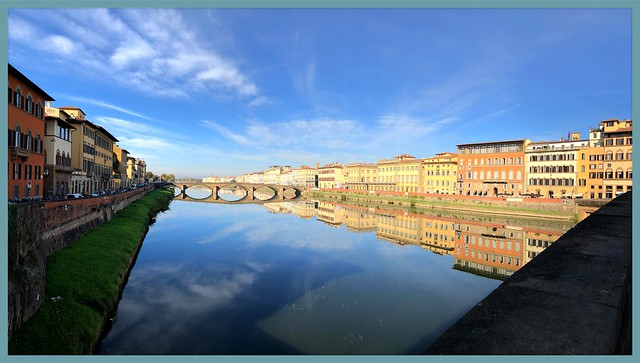Il cielo si specchia nel fiume - The sky is reflected in the river