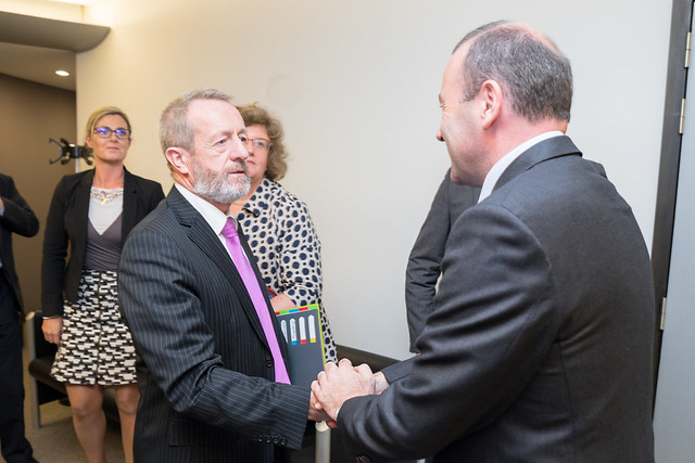 Fine Gael Parliamentary Party visit to Brussels, September 2017
