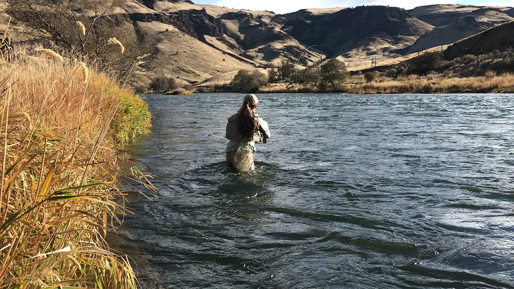 Fishing the Deschutes | Fishing for redside trout in the Wil