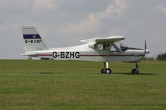 G-BZHG Tecnam P.92 Echo [PFA 318-13606] Sywell 020917