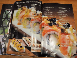Maki, Temaki and Special Maki menu | by huislaw