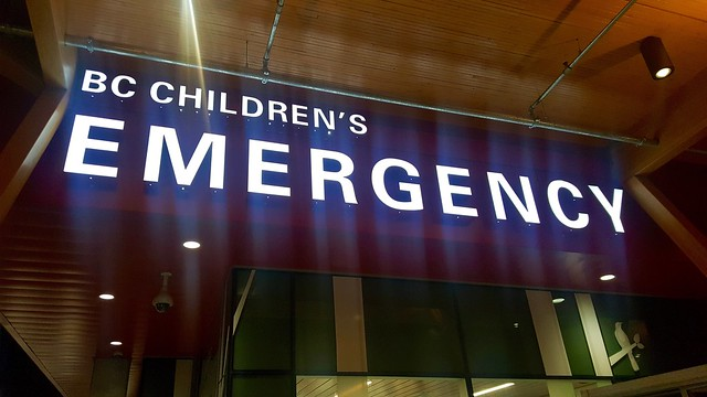 BC Children's Hospital Emergency