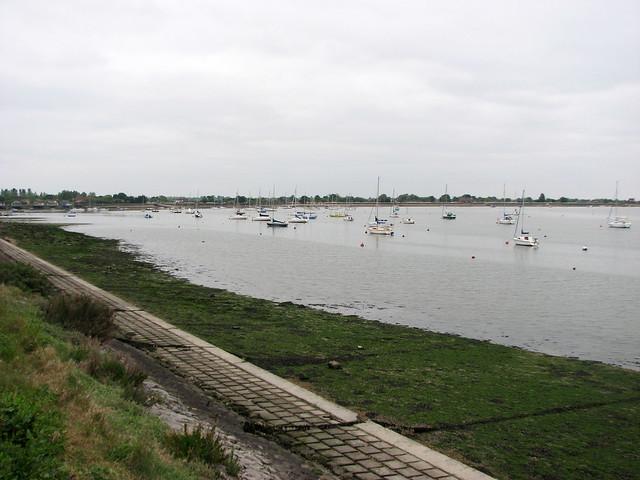 The Blackwater estuary at Heybridge