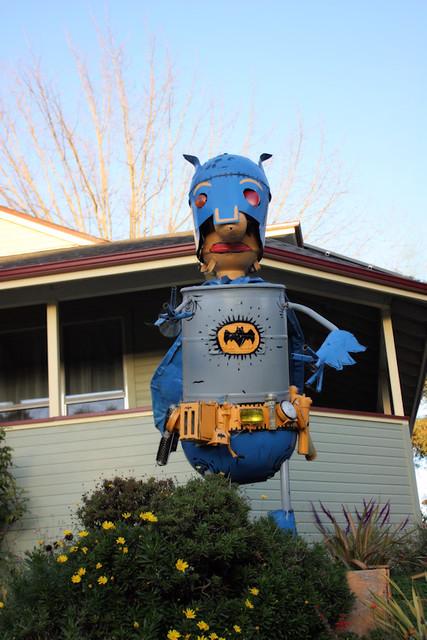 Batman Junk Art