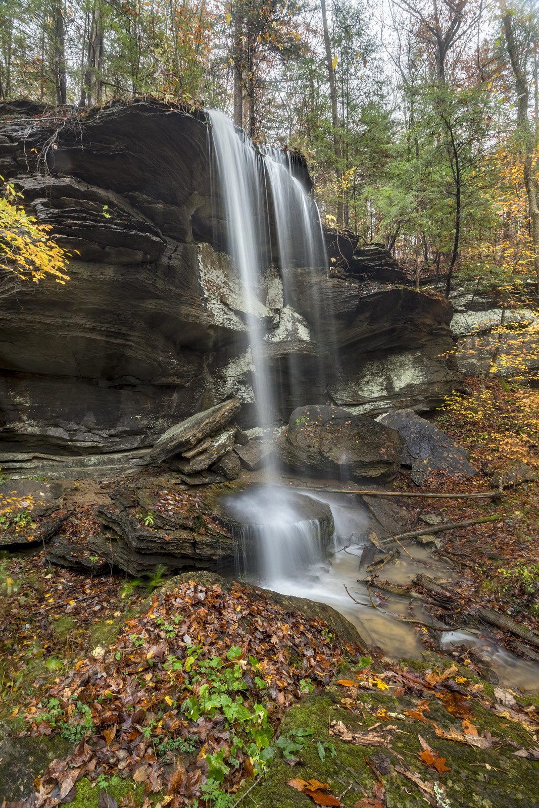 Wheeler Falls, Fall Creek Falls SP, Van Buren County, Tennessee 6