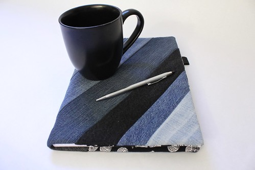 Upcyled Denim Grid Paper Journal | by smithsoccasional