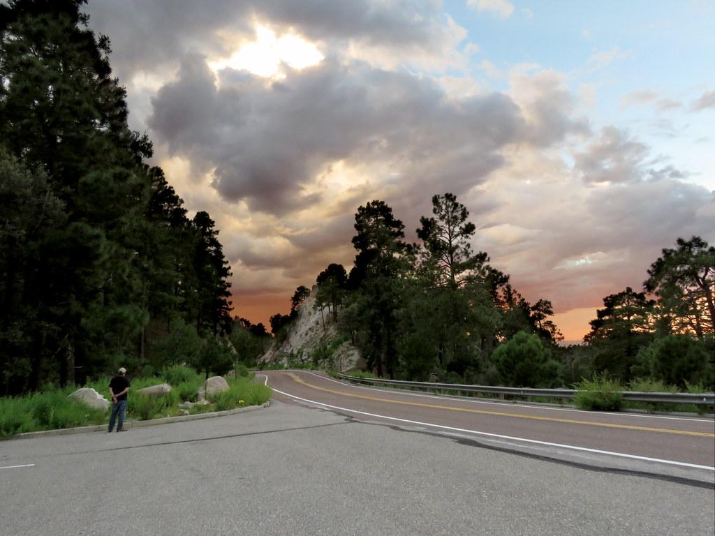 Cloudy Catalina Sunset