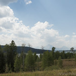 Overlooking Emma Matilda Lake