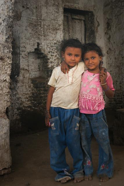 Yemen: enfants de Zabid.
