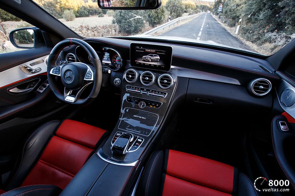 Mercedes C63 AMG S - 8000vueltas-37