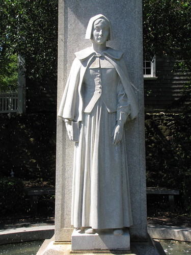 newengland massachusetts plymouth pilgrimmother fountain statue