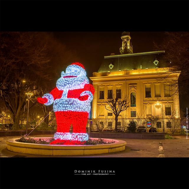 Géant Papa Noël :)
