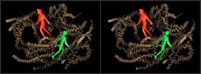 Wreckage of an augmented reality EscherLand