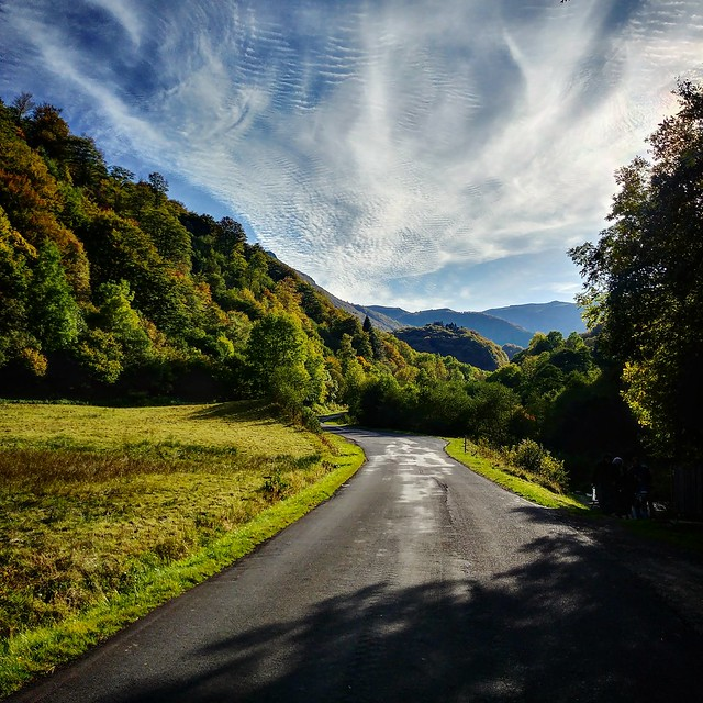 Road trip in Auvergne, France