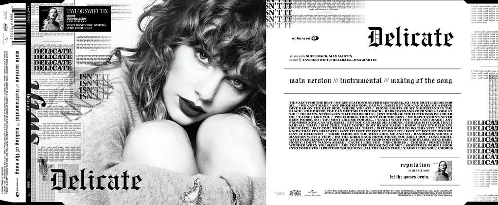 Taylor Swift Delicate Single