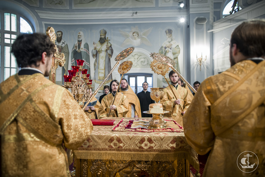 5 ноября 2017, Литургия апостола Иакова / 5 November 2017, Divine Liturgy of St. James