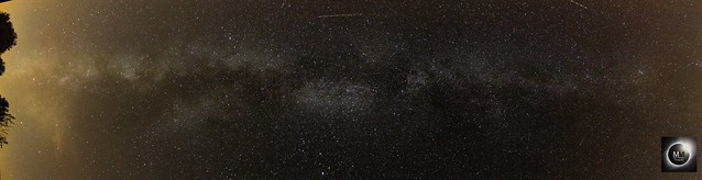 Milky Way Panorama from Astro Farm 22/09/17