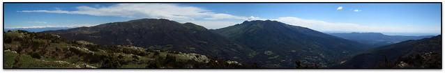 Panoràmica del Matagalls, les Agudes i el Turó de l'Home (el Vallès Oriental)