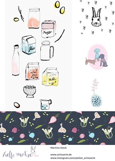 digital kitchen decor and animals - Martina Stock