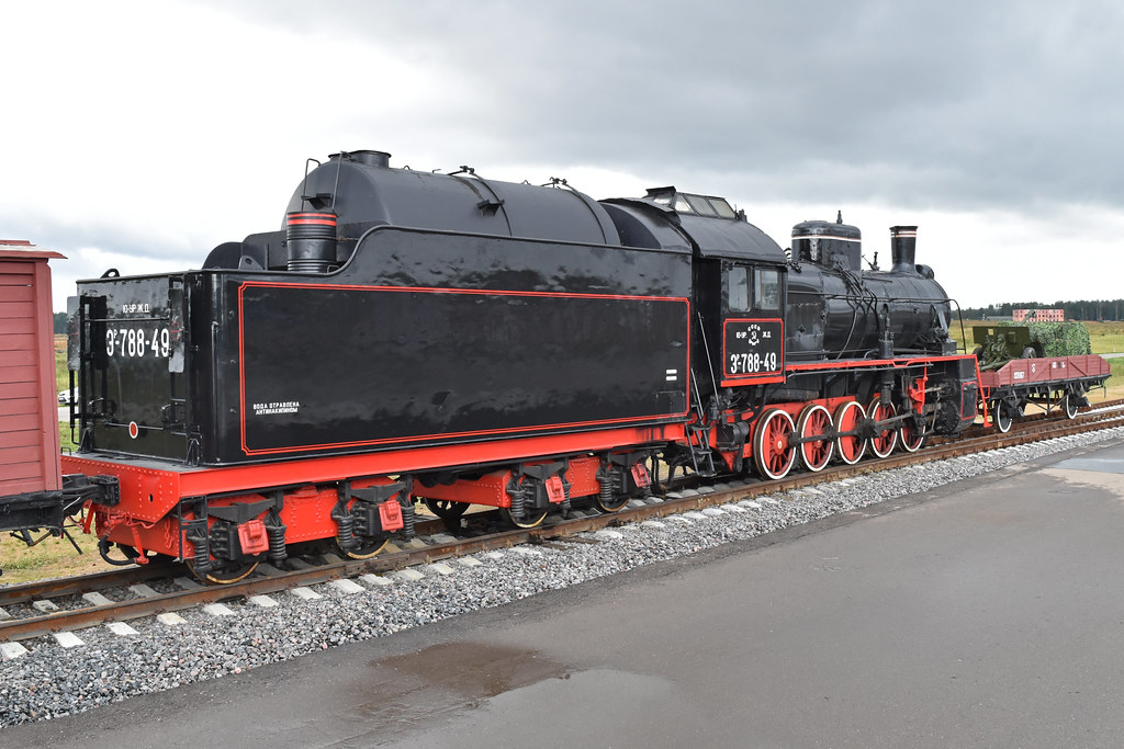 Er Class 0-10-0 'ЭP-788-49'   The 0-10-0 layout was the most…   Flickr